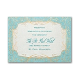 Whimsical Vines - Reception Card