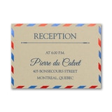 Love Mail - Reception Card
