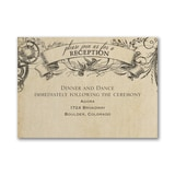 Aerial Steampunk - Reception Card