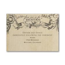 Aerial Steampunk - Reception Card