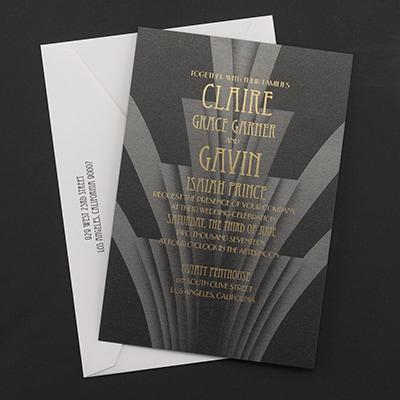 Zephyr invitation carlson craft wedding stationery for Carlson craft invitations discount