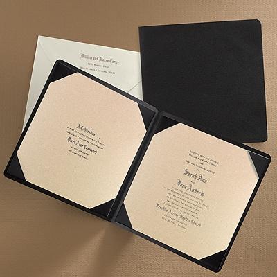 Impressive Occasion - Invitation - Champagne Shimmer - Option 1