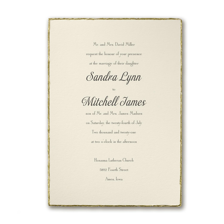 Wedding Invitations Wedding Carlson Craft Wedding Stationery