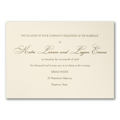 Haute Style - Invitation