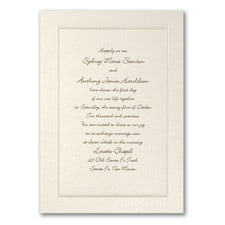Elegant Wedding Invitations: Pearl of Passion