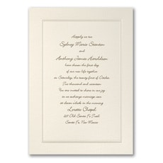 Pearl of Passion - Wedding Invitation