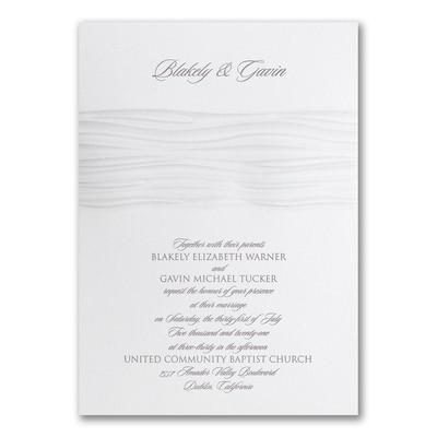 Modern Wave - Invitation
