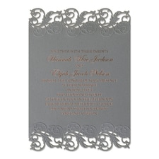 Perfectly Pewter - Invitation