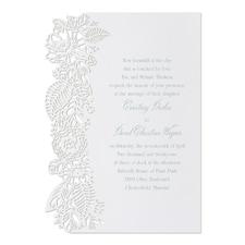 Floral Cut - Invitation