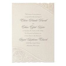 laser cut invitation: Divine Day