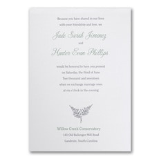 Naturally Pretty - Wedding Invitation