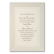Pearl Elegance - Wedding Invitation