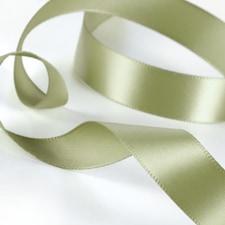 Satin Ribbon - Olive