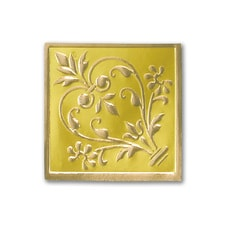 Gold Flourish Seal