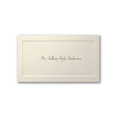 Gentleman's Paneled Calling Card