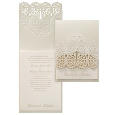 laser cut invitation: Vision of Love
