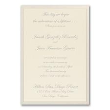Elegant Wedding Invitations: Fanciful Layers