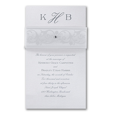 Classically Wrapped - Invitation
