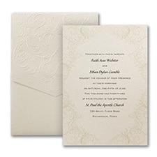Baroque Brilliance - Invitation