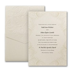 Baroque Brilliance - Wedding Invitation