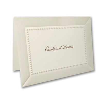 Pearl Elegance - Note Card and Envelope