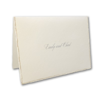 Sophisticated Edges - Note Card and Envelope