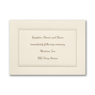 Pearl of Passion - Reception Card