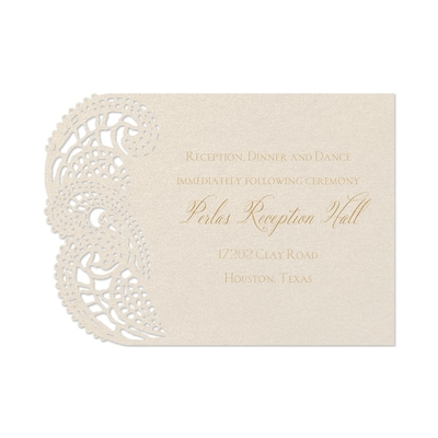Moroccan Delight - Reception Card