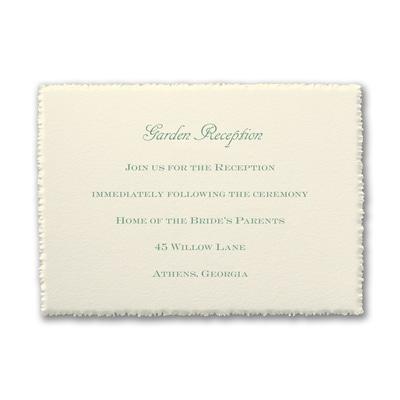 Garden Day Dreams - Reception Card