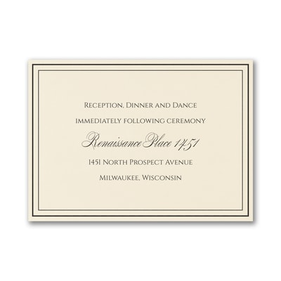 Heartfelt - Reception Card