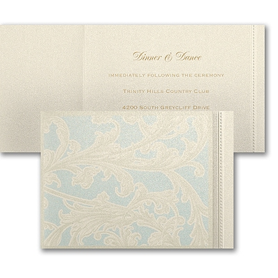 Garniture - Reception Card