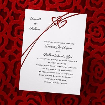 Amorous Hearts - Invitation