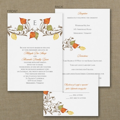 Fall In Love - ValStyle Invitation