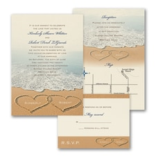 Beach Bliss - ValStyle Invitation - Ecru