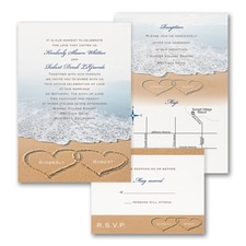 Beach Bliss - ValStyle Invitation - White