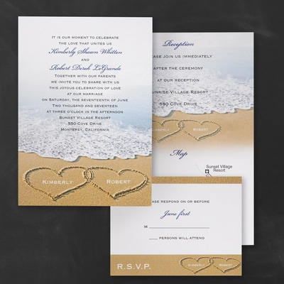Beach Bliss - ValStyle Invitation