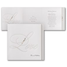 Love Bling - Modern Invitation