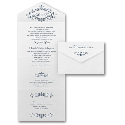 Filigree Inspiration - Seal 'n Send