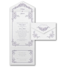 All In One Invitation: Romantic Roses