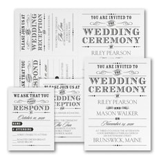 Vintage Nuptial - Save The Date