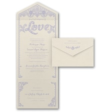 With RSVP Cards: Celebration of Love