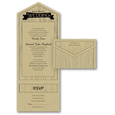 With RSVP Cards: Naturally Inviting