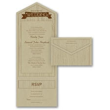 rustic invitation: Naturally Inviting