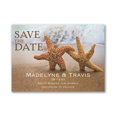 Beach Loving - Save the Date Card