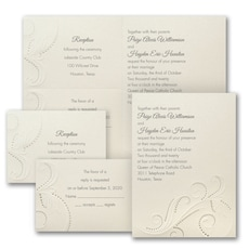With RSVP Cards: Shimmer and Shine