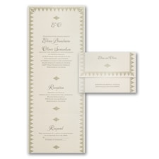 With RSVP Cards: Royal Engagement