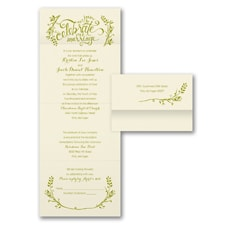 rustic invitation: Celebrate Our Marriage