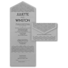 Chevron Dots - Seal and Send Invitation