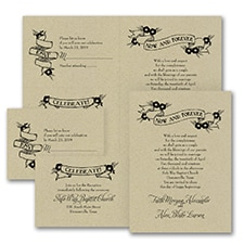 rustic invitation: Forever is Now