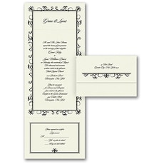 All In One Invitation: Designer Frame